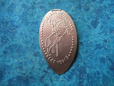 THE NEON MUSEUM LAS VEGAS COPPER Elongated Penny Pressed Smashed 23