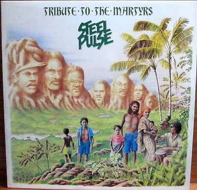 Lp - Steel Pulse = Tribute To The Martyrs - 1979 - Made In Italy (Reggae/roots)