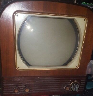 Vintage Philco Model 50T-1403 Television 1950's For Parts Or Repair