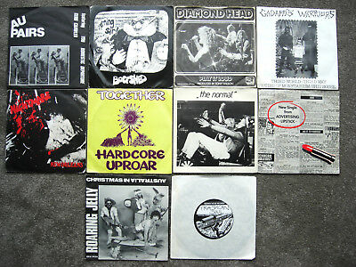 WEIRD, PUNK, INDIE SINGLES COLLECTION / Job Lot x 10 Pic.Sleeves