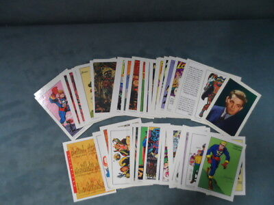 COMPLETE 1994 21st Century Archives COMC ART TRIBUTE to JACK KIRBY 50 Card Set