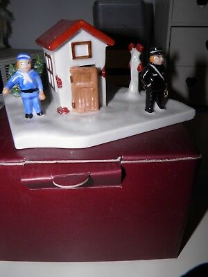 villeroy and boch china train conductor.Toys village