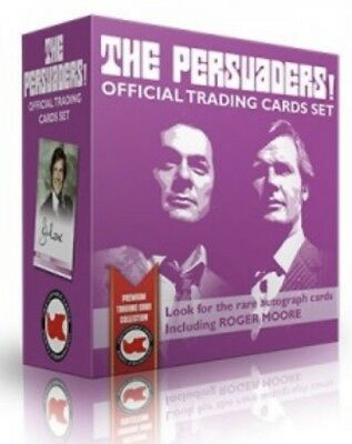 The Persuaders Sealed Box Of Trading Cards 2 Hits & 2 Dealer Promos JW1 And JW2