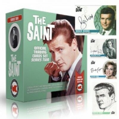 The Saint Series 2 Sealed Box Of Trading Cards 2 Hits & 2 Dealer Promos JW1 & 2