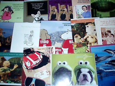 300 Assorted Birthday / Blank / Greeting cards ~ great mix