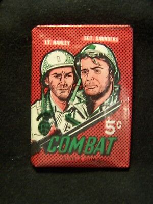 1964 Series Donruss  Combat Unopened Wax Pack