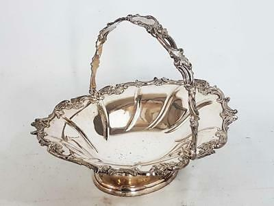 Beautiful Antique Silver Plated Cake Sweetmeats Serving Dish Walker & Hall 1880