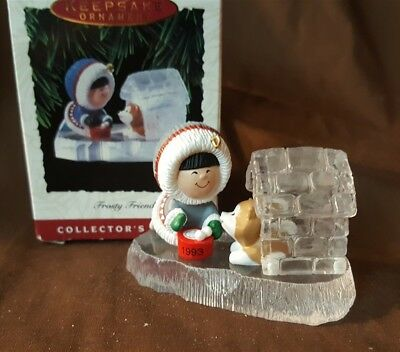 Hallmark Ornament 1993 FROSTY FRIENDS 14th In The Series New In Box