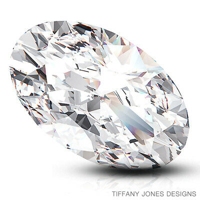 2.02ct D-VS1 Exc-Sym Oval Shape GIA 100% Natural Diamond 9.81x7.37x4.44mm