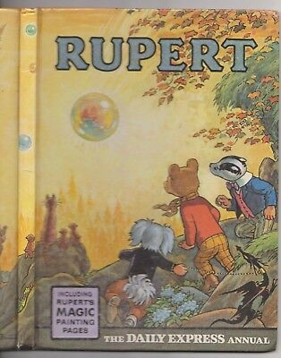 RUPERT ANNUAL 1968 Magic Paintings mainly untouched