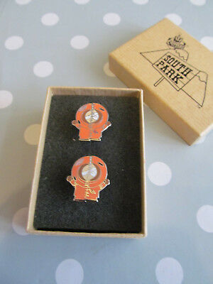 Collectable Gadget Shop South Park Kenny Cuff Links In Box