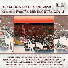 The Golden Age of Light Music: Contrasts: From the 1960s b... | CD | Zustand neu