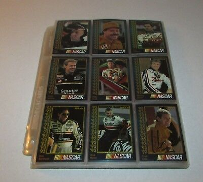 1993 Maxx Nascar Trading Cards Complete Set 212 in Plastic Sheet Protectors