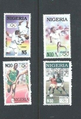 NIGERIA 1996 - Set of 4 - OLYMPIC GAMES Atlanta - SG 709 to 712 - Mint MNH