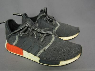ADIDAS NMD R1 Grey Solar Mens Shoes Size 10