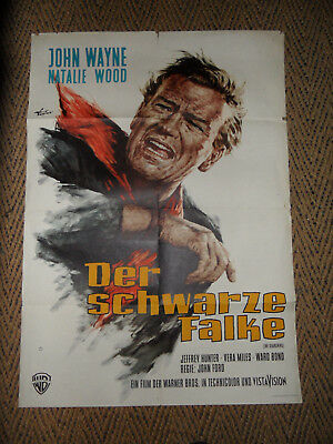 * * John WAYNE * * Der schwarze Falke (The Searchers) + Natalie WOOD - John FORD