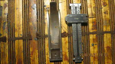 Mauser k-98  Rear Rifle Sight Assembly Base/Spring Part   matching #,s waffen