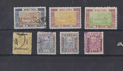 MONTENEGRO - Lot of old stamps