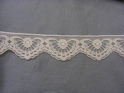 Flat Lace Cream 10 meters  (2649)