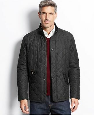 NWT Barbour Chelsea  Mens Sports quilt Jacket SZ L