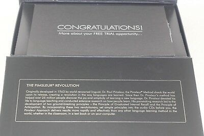 Gold Edition Pimsleur English for German Speakers Level 1 Free Shipping