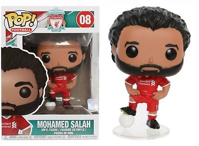 Funko Pop Football: Liverpool Football Club - Mohamed Salah Vinyl Figure #29217