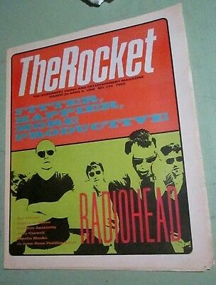 Radiohead Jerry Cantrell Shaolin The Rocket Seattle Music Art Magazine Newspaper