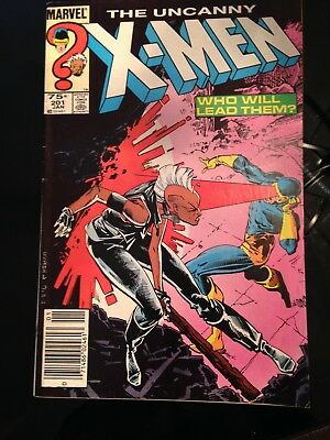 Uncanny X-Men 201, first appearance Cable (as baby Nathan) key issue comic