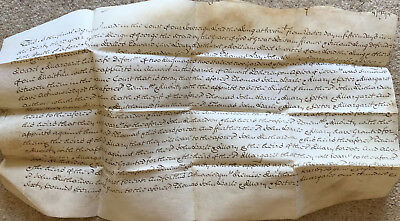 Circa 1760, 33 year of reign King George Alnwick Northumberland vellum document