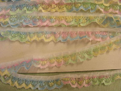 Gathered Narrow  Multi Lace x 10 meters (134) 1 Break
