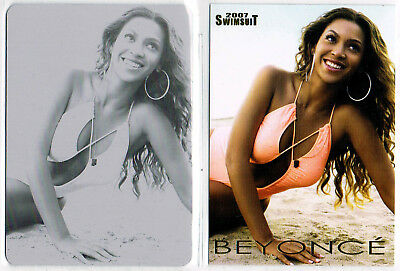 2007 Si Swimsuit; Beyonce Printing Plate, Sports Illustrated