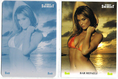2007 Si Swimsuit; Bar Refaeli Printing Plate, Sports Illustrated