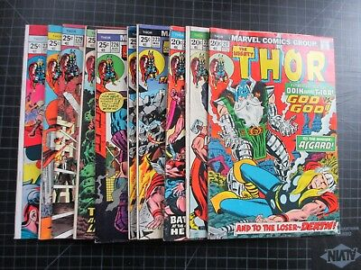 Marvel Mighty Thor #217,221,222,223X2,226,227,229,233,234