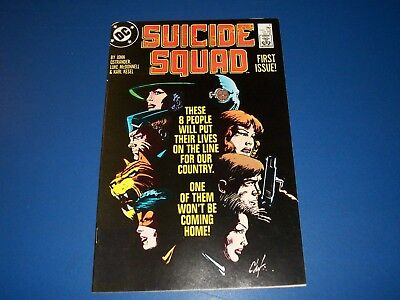 Suicide Squad #1 VF+ Beauty Deadshot 1st Appearance New Suicide Squad