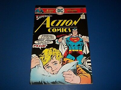 Action Comics #457 Bronze age FVF Green Arrow Black Canary