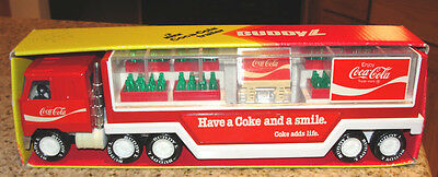 Coca Cola Mack Trailer Buddy L 1979 #5262 Have A Coke And A Smile Made In Japan