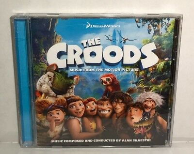 The Croods Original Motion Picture Soundtrack CD, OST, Like New