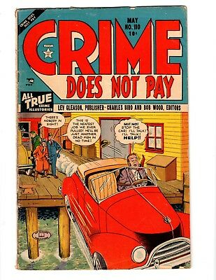"""""""Crime Does Not Pay"""" 1951 Comic, Issue #110"""