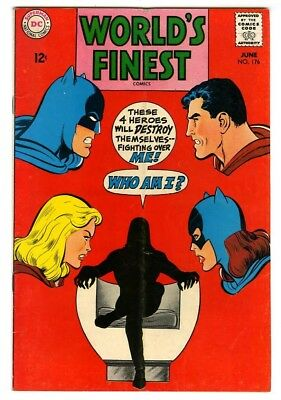 World's Finest #176 (1968) VG/F New DC Silver Age Collection