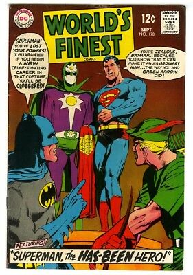 World's Finest #178 (1968) VG/F New DC Silver Age Collection