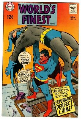 World's Finest #180 (1968) VG+ New DC Silver Age Collection