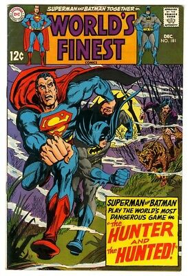 World's Finest #181 (1968) VG/F New DC Silver Age Collection