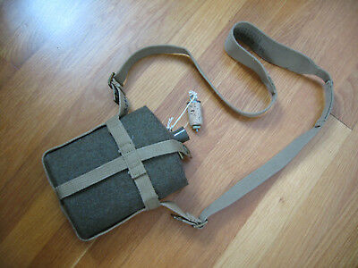 British P-37 Canteen - 1943 Dated - Mint Condition - Mills Webbing