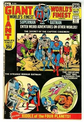 World's Finest #206 (1971) VF/NM New DC Silver Age Collection Giant Size