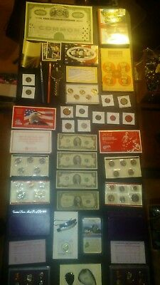 BIG coin LOT collection MINT SETS PROOF SILVER VINTAGE pic rock + NO JUNK DRAWER