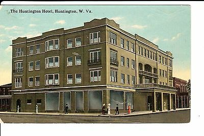 Early 1900's The Huntington Hotel in Huntington, WV West Virginia PC