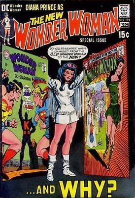 WONDER WOMAN #191 VG/F, includes most of #179, DC Comics 1970 Stock Image
