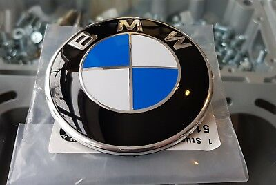 Bmw Badge For Bonnet 82Mm Size 1 2 3 4 5 6 7 Series Se And M Sport Vehicles