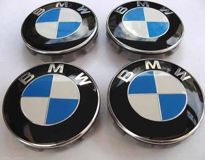 Bmw Badge For Wheels 68Mm Size 1 2 3 4 5 6 7 Series Vehicles