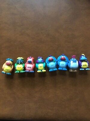 Rare lot of 8 Yowies Boof Crag Rumble Ditty Nap Chomp Squish